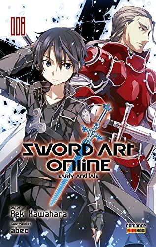 Sword Art Online (Early and Late) - Volume 08 (Item novo e lacrado)