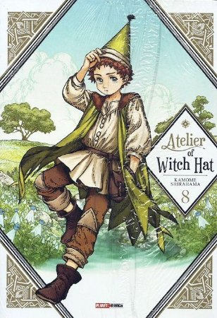 Atelier of Witch Hat - Volume 08 (Item novo e lacrado)