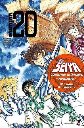 Cavaleiros do Zodíaco (Saint Seiya) Kanzenban - Volume 20  (Item novo e lacrado)