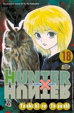 Hunter x Hunter - Volume 18 (Item novo e lacrado)