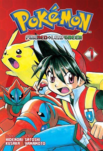 Pokémon FireRed & LeafGreen - Volume 01 (Item novo e lacrado)