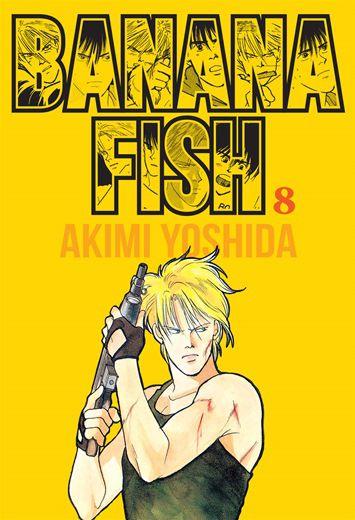 Banana Fish - Volume 08 (Item novo e lacrado)