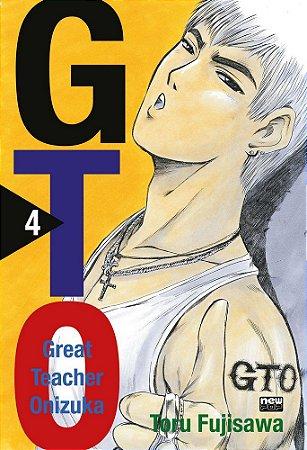 GTO (Great Teacher Onizuka) - Volume 4 (Item novo e lacrado)