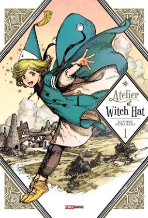 Atelier of Witch Hat - Volume 1 (Item novo e lacrado)