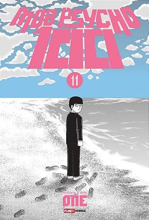 Mob Psycho 100 - volume 11 (Item novo e lacrado)