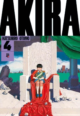 Akira - Volume 04 (Item novo e lacrado)