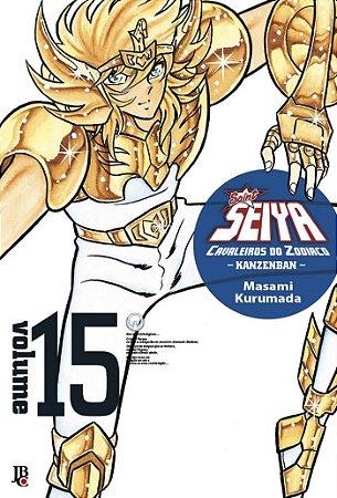 Cavaleiros do Zodíaco (Saint Seiya) Kanzenban - Volume 15  (Item novo e lacrado)