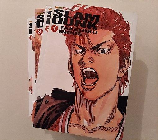 Slam Dunk - Volumes 1 ao 5 (Item usado e reembalado)