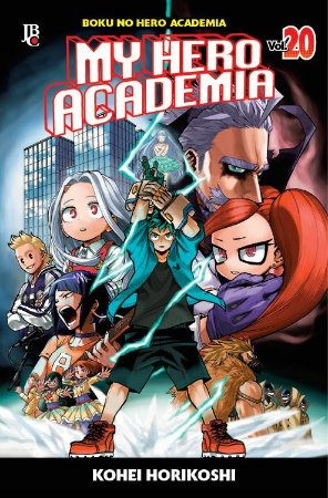 My Hero Academia - Volume 20 (Item novo e lacrado)