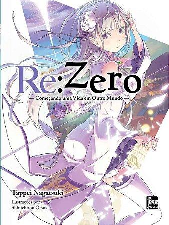 Re:Zero – Começando uma Vida em Outro Mundo - Livro 01 (Item novo e lacrado)
