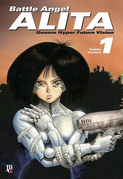 Battle Angel Alita - Volume 01 (Item novo e lacrado)