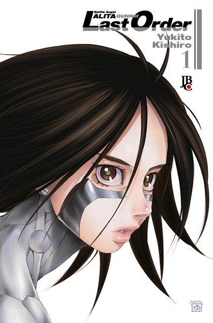 Battle Angel Alita - Last Order- Volume 01 (Item novo e lacrado)