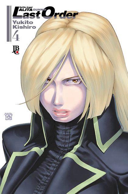 Battle Angel Alita - Last Order- Volume 04 (Item novo e lacrado)