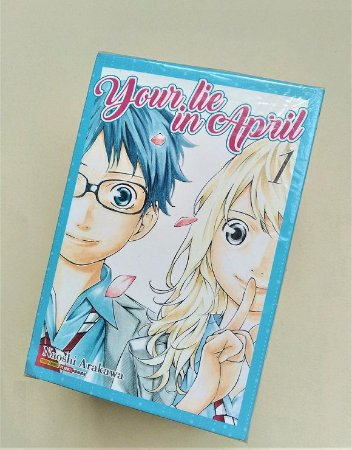 Your Lie in April - Volumes 1 ao 11 (Item usado e reembalado)