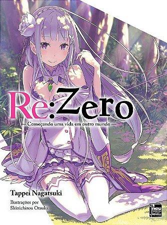 Re:Zero – Começando uma Vida em Outro Mundo - Livro 09 (Item novo e lacrado)