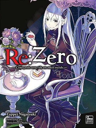 Re:Zero – Começando uma Vida em Outro Mundo - Livro 10 (Item novo e lacrado)