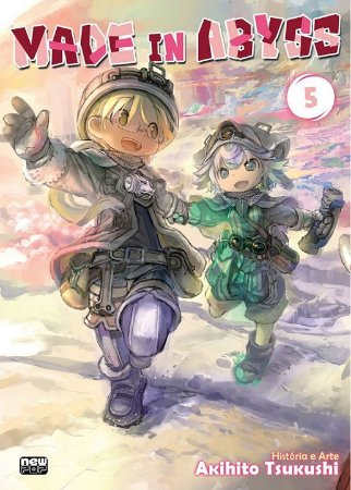 Made In Abyss - Volume 05 (Item novo e lacrado)