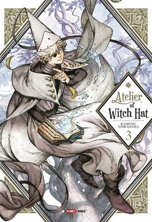 Atelier of Witch Hat - Volume 03 (Item novo e lacrado)