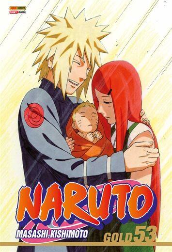 Naruto Gold - Volume 53 (Item novo e lacrado)