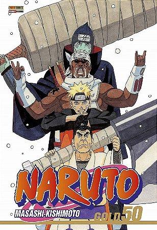 Naruto Gold - Volume 50 (Item novo e lacrado)