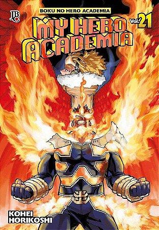 My Hero Academia - Volume 21 (Item novo e lacrado)