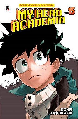 My Hero Academia - Volume 15 (Item novo e lacrado)