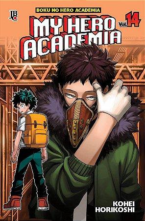 My Hero Academia - Volume 14 (Item novo e lacrado)