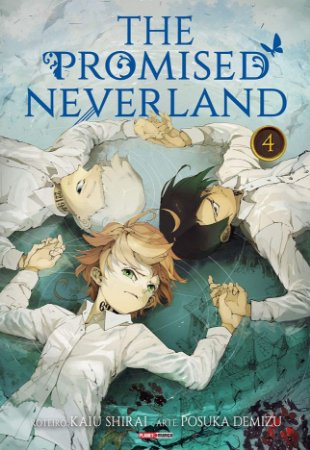 The Promised Neverland - Volume 04 (Item novo e lacrado)