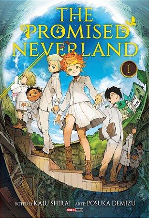 The Promised Neverland - Volume 01 (Item novo e lacrado)