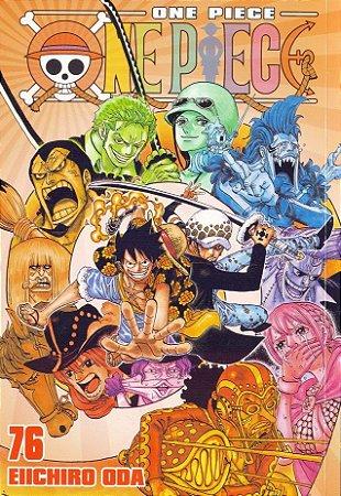 One Piece - Volume 76 (Item novo e lacrado)