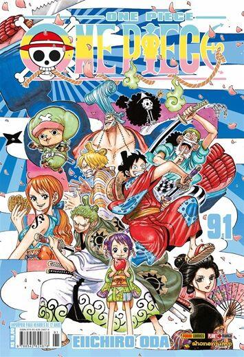 One Piece - Volume 91 (Item novo e lacrado)