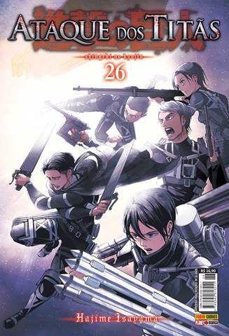 Ataque Dos Titãs - Volume 26 (Item novo e lacrado)