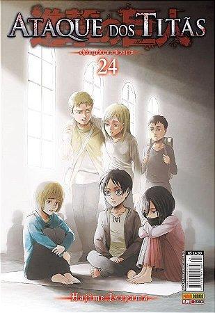 Ataque Dos Titãs - Volume 24 (Item novo e lacrado)