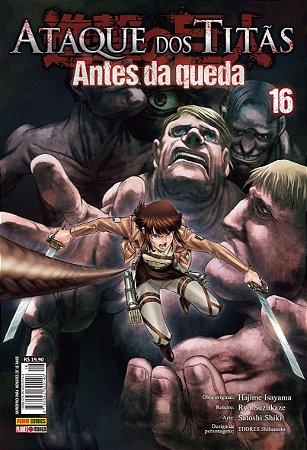 Ataque Dos Titãs : Antes Da Queda - Volume 16 (Item novo e lacrado)