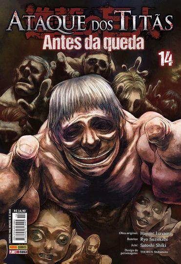 Ataque Dos Titãs : Antes Da Queda - Volume 14 (Item novo e lacrado)