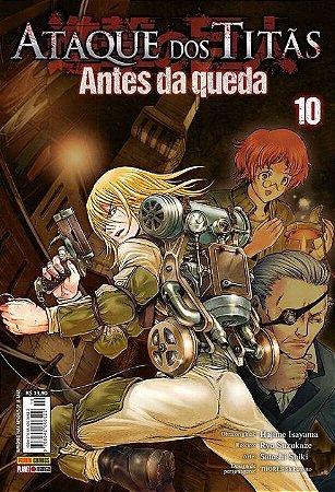Ataque Dos Titãs : Antes Da Queda - Volume 10 (Item novo e lacrado)