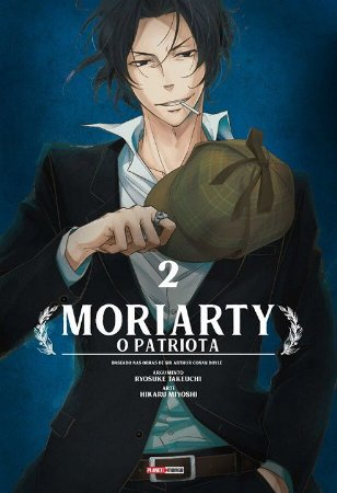 Moriarty O Patriota - Volume 02 (Item novo e lacrado)