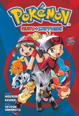 Pokémon Ruby & Sapphire - Volume 02 (Item novo e lacrado)