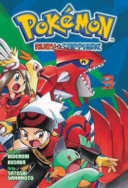 Pokémon Ruby & Sapphire - Volume 03 (Item novo e lacrado)