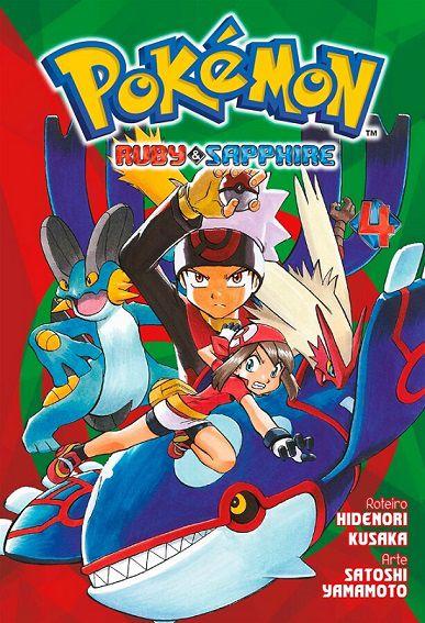 Pokémon Ruby & Sapphire - Volume 04 (Item novo e lacrado)