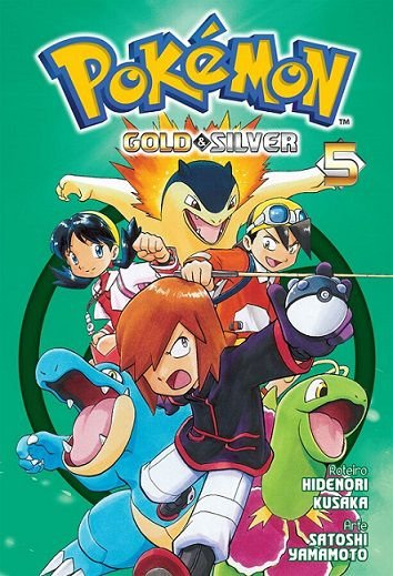 Pokémon Gold & Silver - Volume 05 (Item novo e lacrado)