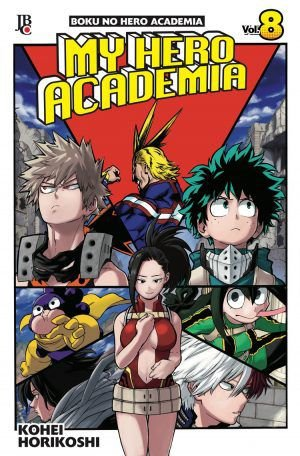 My Hero Academia - Volume 08 (Item novo e lacrado)