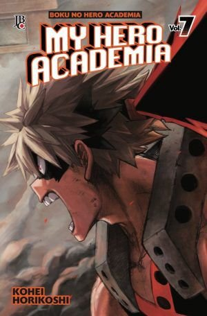 My Hero Academia - Volume 07 (Item novo e lacrado)