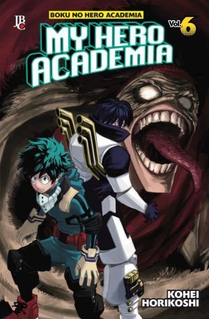 My Hero Academia - Volume 06 (Item novo e lacrado)