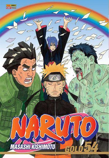 Naruto Gold - Volume 54 (Item novo e lacrado)