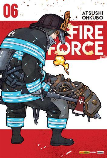 Fire Force - Volume 06 (Item novo e lacrado)