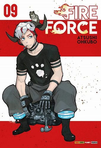 Fire Force - Volume 09 (Item novo e lacrado)