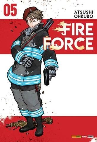 Fire Force - Volume 05 (Item novo e lacrado)