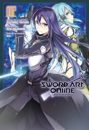 Sword Art Online (Phantom Bullet) - Volume 02 (Item novo e lacrado)