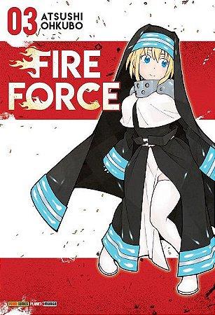 Fire Force - Volume 03 (Item novo e lacrado)
